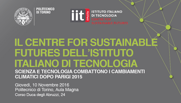 Al Politecnico Di Torino Inaugurazione Del Centre For Sustainable Futures