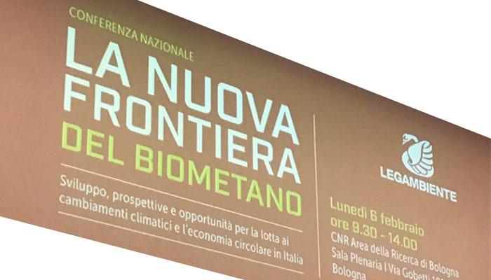"""Conferenza Legambiente """"La Nuova Frontiera Del Biometano"""""""