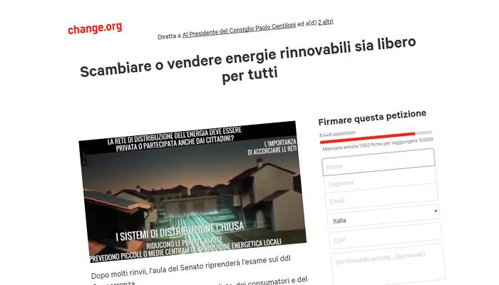 Scambiare O Vendere Energie Rinnovabili Sia Libero Per Tutti