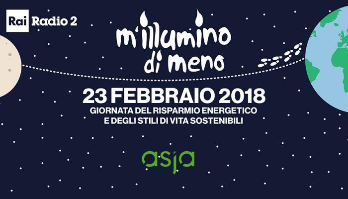 "Asja Aderisce A ""m'illumino Di Meno"" 2018"
