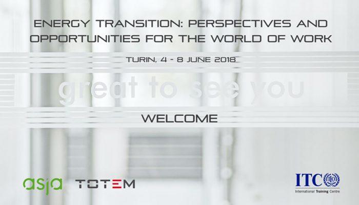 Occupazione E Transizione Energetica: Asja Ospita I Partecipanti Del Corso ITC/ILO
