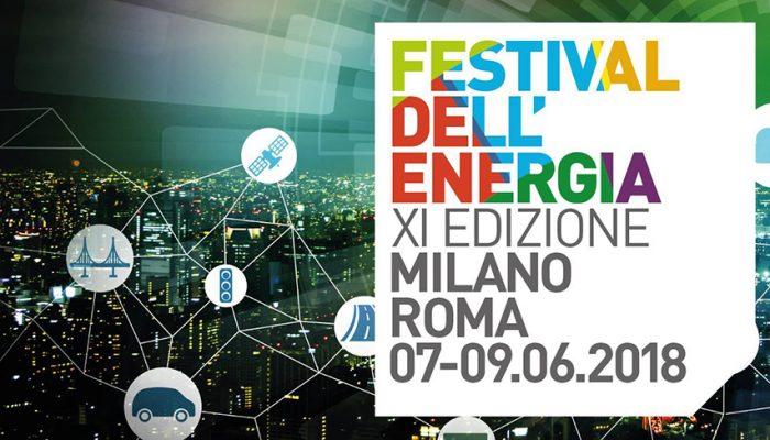 Festival Dellenergia Roma Milano 2018