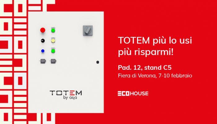 Asja Porta Il TOTEM Alla Fiera EcoHouse Di Verona