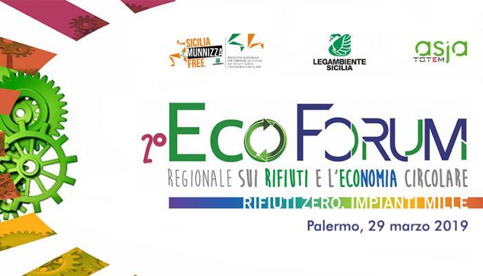 Asja A Palermo Per Il 2° Ecoforum Rifiuti