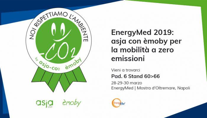 EnergyMed 2019: Asja Con èmoby Per La Mobilità A Zero Emissioni