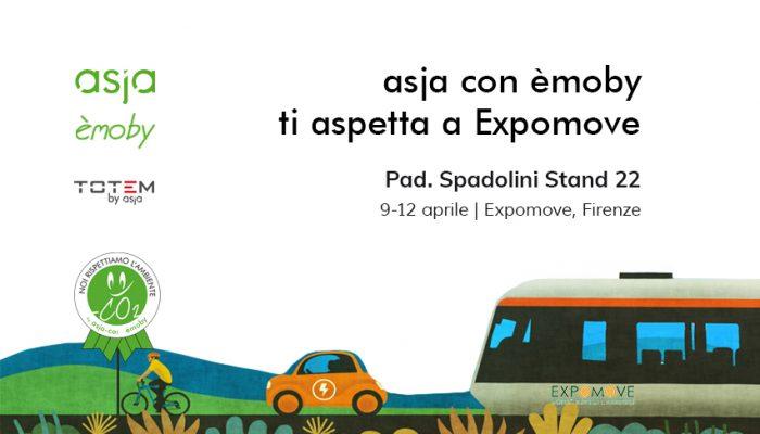 Asja Ed èmoby A Firenze Per ExpoMove 2019