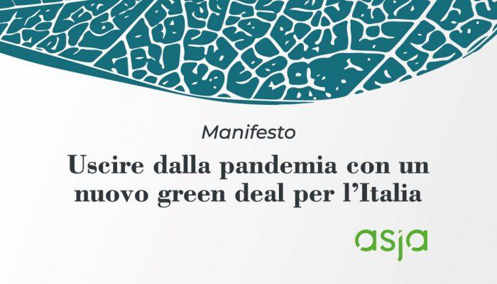 Anche Asja Sostiene Un Nuovo Green Deal Per L'Italia